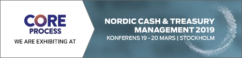 CORE Process exhibiting at Nordic Cash & Treasury Management 2019